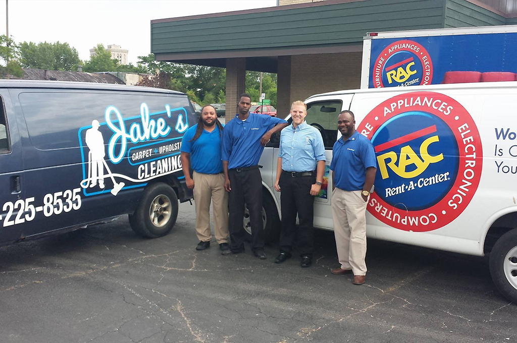 satisfied clients of Jake's Carpet and Upholstery Cleaning