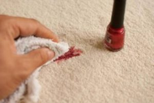 removing nail polish jake's carpet and upholstery cleaning